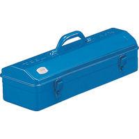 トラスコ中山(TRUSCO) 山型工具箱 531×202×228.5mm ブルー Y530B 120-1069 (直送品)