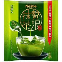 【ポーション】ネスレ 贅沢抹茶 1袋(5個入)