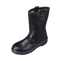 シモン(Simon) 安全半長靴 7544黒 24.0cm 1122520 1足(直送品)