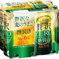 アサヒビール アサヒ クリアアサヒ 贅沢ゼロ 500ml 6缶