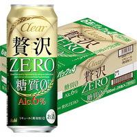 アサヒビール アサヒ クリアアサヒ 贅沢ゼロ 500ml 24缶