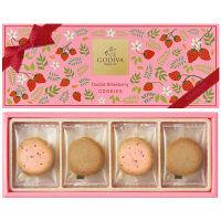 GODIVA(ゴディバ) ダブルストロベリークッキーアソートメント8枚 1個 伊勢丹の贈り物
