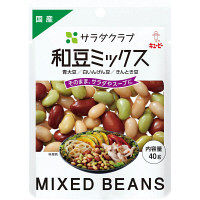 キユーピー サラダクラブ 和豆ミックス(青大豆、白いんげん豆、きんとき豆) 1セット(3袋)