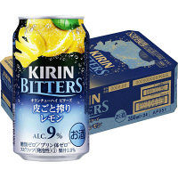 キリンビール ビターズ皮ごと搾りレモン 350ml 24缶