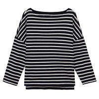 無印 ドロップショルダーTシャツ 婦人M