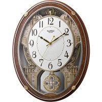 スモールワールドプラウドDX 電波掛時計