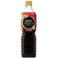 【ボトルコーヒー】ネスレ日本 ネスカフェ ゴールドブレンド コク深め カフェインレス 無糖 900ml 1箱(12本入)