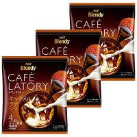【ポーション】AGF ブレンディ カフェラトリー ポーションコーヒー キャラメルラテベース 1セット(12個)