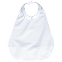 うきうきシャツエプロン/シロ 403785-01 フットマーク (取寄品)
