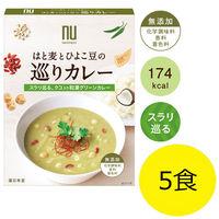 薬日本堂(ニホンドウ) はと麦とひよこ豆の巡りカレー 1セット(5食)