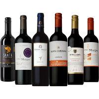 濃い旨ワインセット フルボディ赤ワイン6本飲み比べ