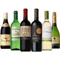 安旨ワインセット 赤・白・泡6本飲み比べ