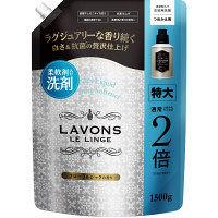 ラボン LAVONS 柔軟剤洗剤 詰め替え フローラルシック特大 1500g