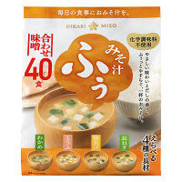 ひかり味噌 みそ汁ふぅ 合わせ味噌40食 インスタント味噌汁