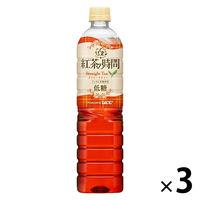 UCC上島珈琲 紅茶の時間 ストレートティー 低糖 930ml 1セット(3本)