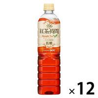 UCC上島珈琲 紅茶の時間 ストレートティー 低糖 930ml 1箱(12本入)