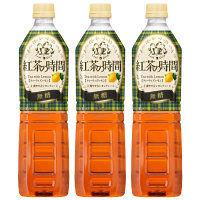 UCC上島珈琲 紅茶の時間 ティーウィズレモン 無糖 930ml 1セット(3本)
