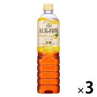 UCC上島珈琲 紅茶の時間 ティーウィズレモン 低糖 930ml 1セット(3本)