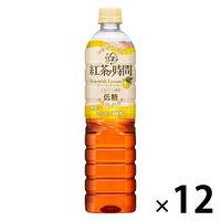 UCC上島珈琲 紅茶の時間 ティーウィズレモン 低糖 930ml 1箱(12本入)
