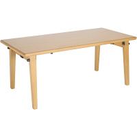大和屋 フレジー キッズテーブル F500 幅約1200×奥行約600×高さ約500mm 1台 (取寄品)