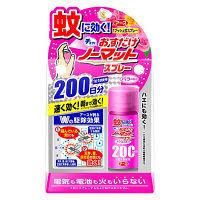 おすだけノーマット スプレータイプ バラの香り 200日分 1本 アース製薬