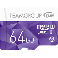 Team製microSD 64GB