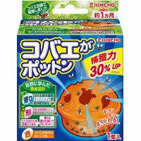 コバエがポットン 置くタイプ 約1ヶ月 1個 キンチョー 大日本除虫菊