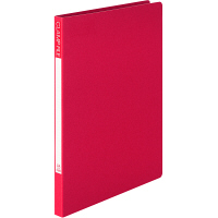 ビュートン エコノミーZファイル A4タテ レッド 1セット(30冊:10冊入×3箱)