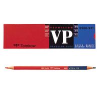 トンボ鉛筆 赤青鉛筆(朱藍)7:3 8900-VP7/3 1ダース(12本入)