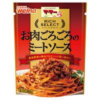 日清フーズ マ・マー リッチセレクト お肉ごろごろのミートソース(2人前) 260g 1個