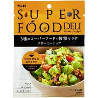 エスビー食品 SUPERFOOD DELI 3種のスーパーフードと穀物サラダ クリーミーナッツ 24g 1袋