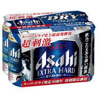 アサヒ 期間限定 スーパードライ エクストラハード 350ml 6缶