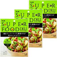 エスビー食品 SUPERFOOD DELI 3種のスーパーフードと穀物サラダ 爽やかレモン&ミント 23g 1セット(3袋入)