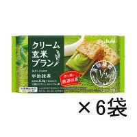 クリーム玄米ブラン 宇治抹茶 1箱(6袋入) アサヒグループ食品 栄養調整食品