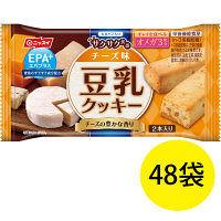 EPA+(エパプラス) 豆乳クッキー サクサク食感 チーズ味 27g 1セット(48袋) ニッスイ 栄養補助食品
