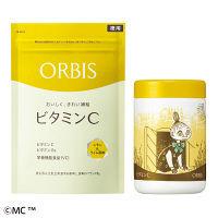 ORBIS(オルビス) 美容対策に!ビタミンCサプリ(徳用)&専用ムーミンボトルセット(ミムラねえさん)