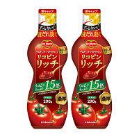デルモンテ リコピンリッチトマトケチャップ ディズニーデザインボトル 1セット(2本入)