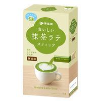 伊藤園 TEAS' TEA NEWAUTHENTIC おいしい無添加 抹茶ラテ スティック 1箱(5本)