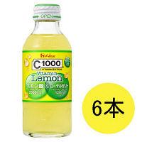 C1000 ビタミンレモン クエン酸&ローヤルゼリー 1セット(140mL×6本) ハウスウェルネスフーズ