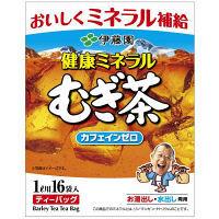 【水出し可】伊藤園 健康ミネラルむぎ茶ティーバッグ 1パック(16バッグ入)