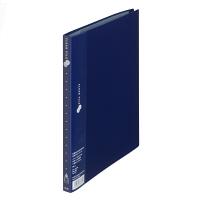 プラス スーパーエコノミークリアーファイル B5タテ 20ポケット ネイビー FC-132EL 88501 1箱(10冊入)