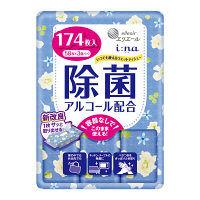 ウェットティッシュ アルコール エリエール イーナ いつでも使えるウェットティシュー 除菌(アルコール配合) 1パック(58枚×3個) 大王製紙