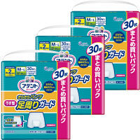アテント さらさらパンツ うす型足周りガード M~L 男女共用 1箱(90枚) 大王製紙