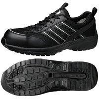 ミドリ安全 JSAA認定 軽量 作業靴 プロスニーカー SL601 30.0cm ブラック 1足 2125041018(直送品)