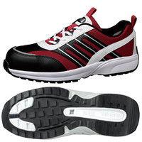ミドリ安全 JSAA認定 軽量 作業靴 プロスニーカー SL601 22.5cm レッド 1足 2125041404(直送品)