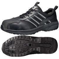 ミドリ安全 JSAA認定 軽量 作業靴 プロスニーカー SL601CAP 26.5cm ブラック 1足 2125042312(直送品)