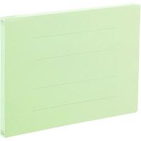 アスクル フラットファイル A4ヨコ グリーン エコノミータイプ 30冊
