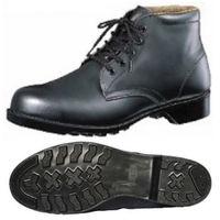 ミドリ安全 革製ゴム底 安全靴 HS200N ブラック 25.5cm 1足 (直送品)