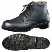 ミドリ安全 JIS規格 革製ゴム底中編上安全靴 HS200N ブラック 30.0cm A1010042518 (直送品)
