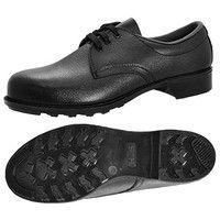 ミドリ安全 JIS規格 革製ゴム底安全靴 HS100N ブラック 25.0cm A1000040809 (直送品)